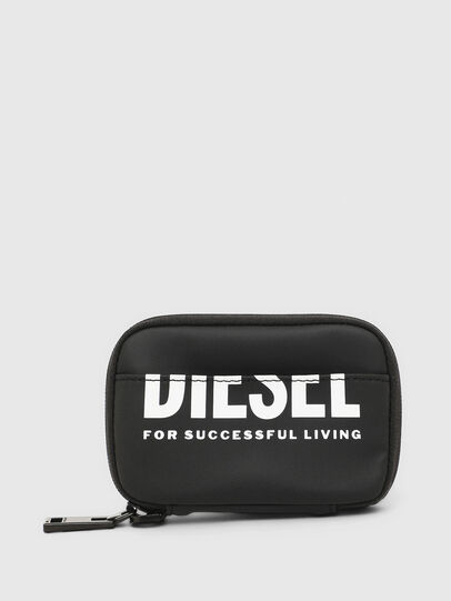 Diesel - LARIO, Black - Zip-Round Wallets - Image 1