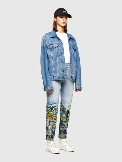 Diesel - D-Joy 009IZ, Light Blue - Jeans - Image 6