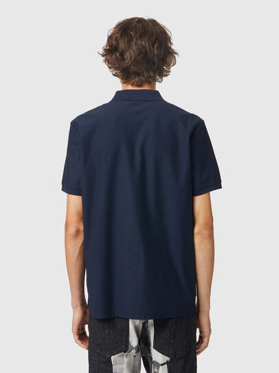 Diesel - T-SMITH-B2, Blue - Polos - Image 2