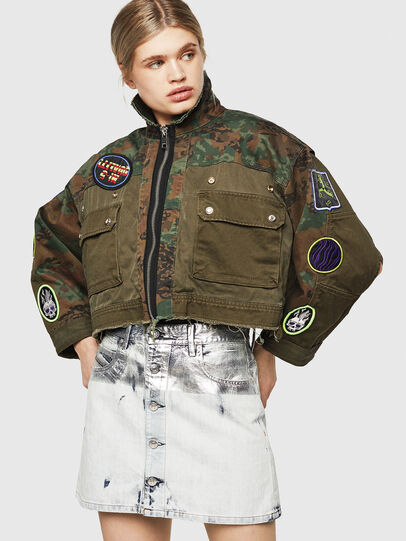Diesel - G-ANAPAY, Military Green - Jackets - Image 1