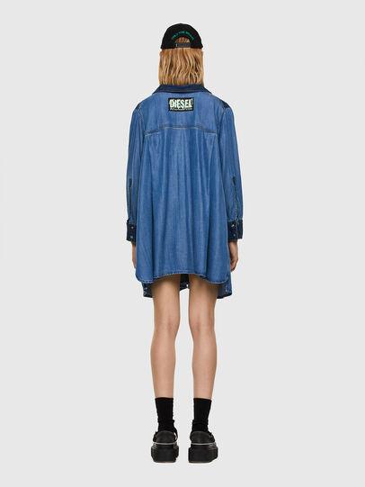 Diesel - DE-NILLA, Light Blue - Denim Shirts - Image 6