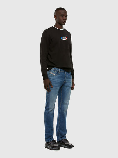 Diesel - Larkee 009DB, Medium blue - Jeans - Image 5