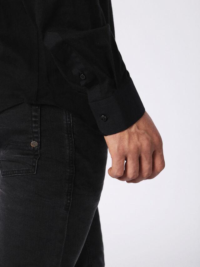 Diesel - DVL-SHIRT-MALE-RE, Black - Shirts - Image 6