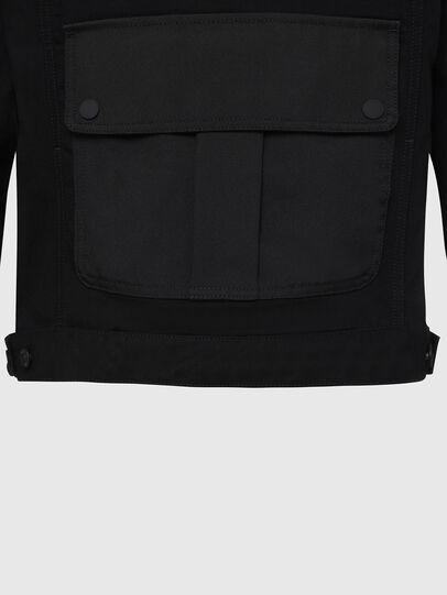 Diesel - D-COSMIC, Black - Denim Jackets - Image 6