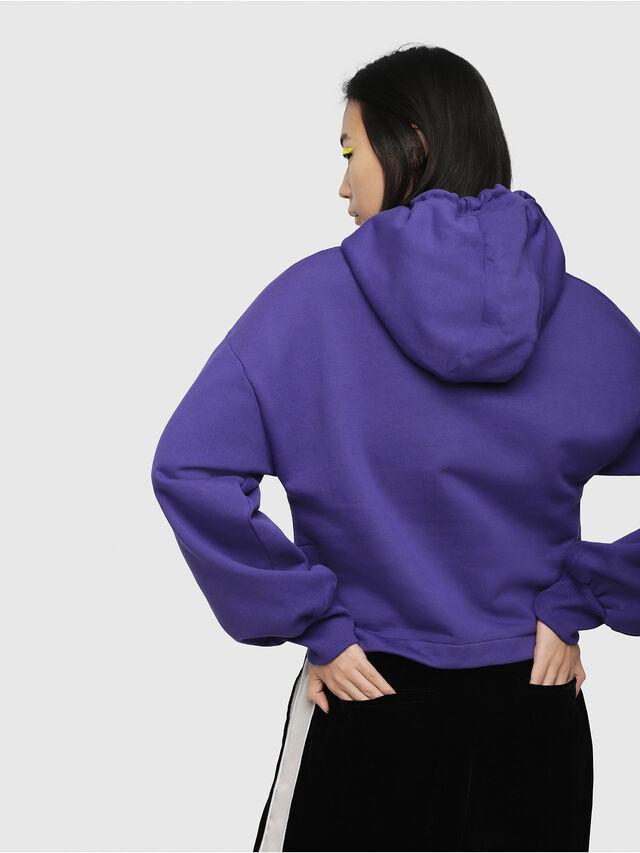 Diesel - F-DINIE-A, Violet - Sweaters - Image 2