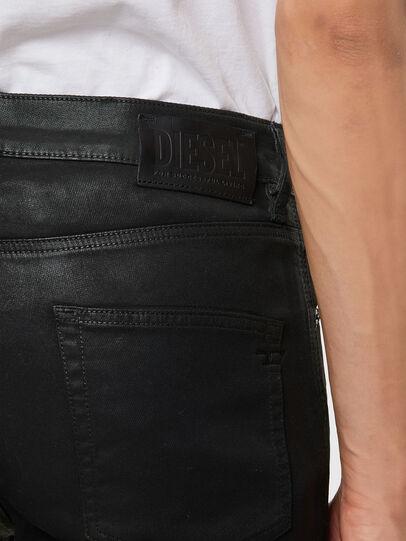 Diesel - D-Strukt JoggJeans® 069QX, Black/Green - Jeans - Image 4