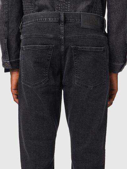 Diesel - D-Fining 09A14, Black/Dark grey - Jeans - Image 4