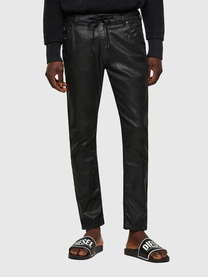 Diesel - Krooley JoggJeans® 0849R, Black/Dark grey - Jeans - Image 1