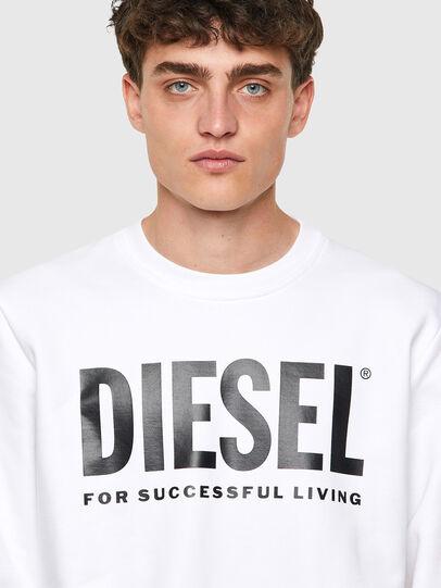 Diesel - S-GIRK-ECOLOGO, White - Sweaters - Image 3