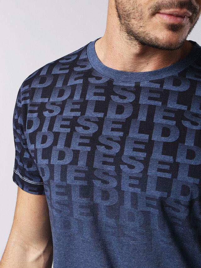 Diesel - UMLT-JAKE, Blue - T-Shirts - Image 3