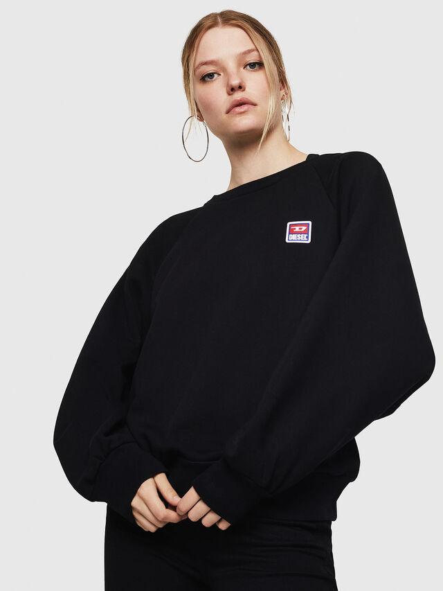 Diesel - F-HENNY-E, Black - Sweaters - Image 1