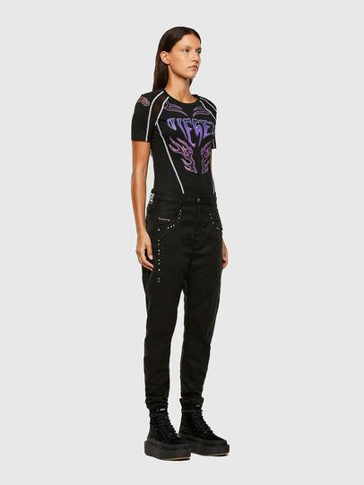 Diesel - FAYZA JoggJeans® 069NC, Black/Dark grey - Jeans - Image 6