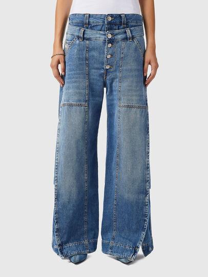 Diesel - D-Laly 0AFAM, Medium blue - Jeans - Image 1
