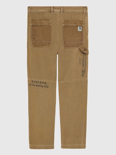 Diesel - P-TRENT, Light Brown - Pants - Image 2