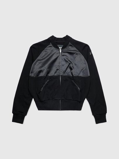 Diesel - UFLT-ABSAT, Black - Sweaters - Image 1