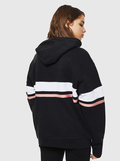 Diesel - UFLT-PHYLO-HOOD, Black - Sweaters - Image 2