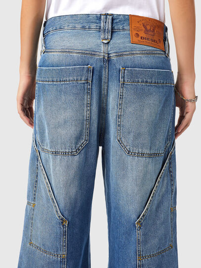 Diesel - D-Laly 0AFAM, Medium blue - Jeans - Image 4