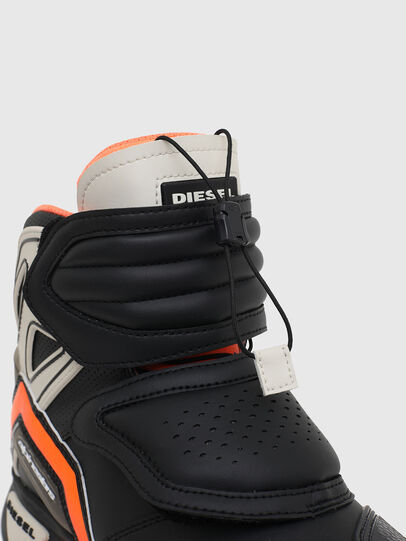 Diesel - ASTARS-SKBOOT, Black/Orange - Sneakers - Image 5