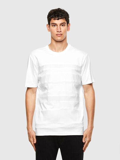 Diesel - T-LOUD, White - T-Shirts - Image 1