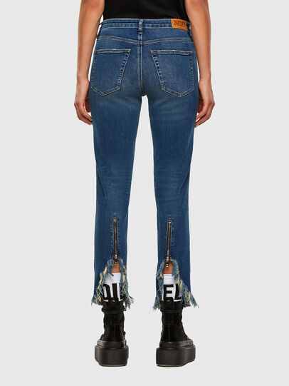 Diesel - Babhila-Zip 009EZ, Medium blue - Jeans - Image 2