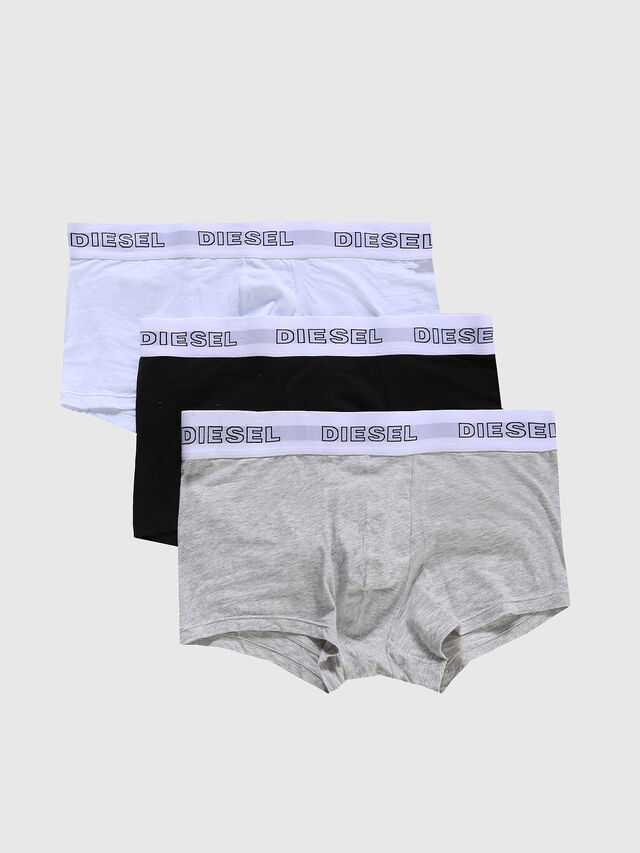 Diesel - UMBX-KORYTHREEPACK, Grey/White - Trunks - Image 1