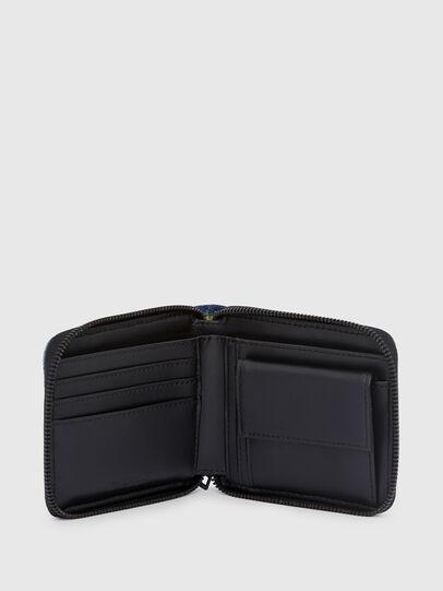 Diesel - ZIPPY HIRESH S, Blue - Zip-Round Wallets - Image 3
