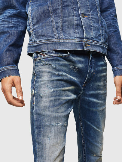 Diesel - Thommer JoggJeans 0870Q, Medium blue - Jeans - Image 3