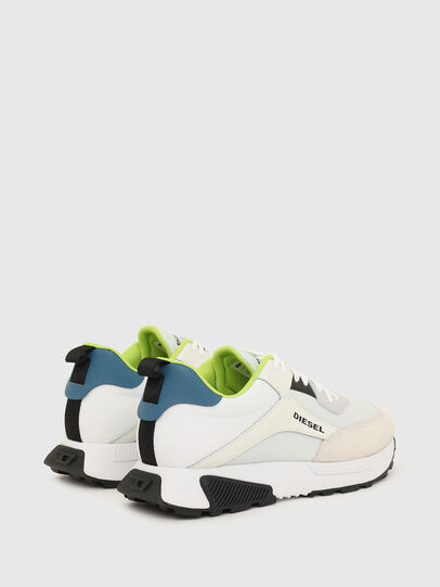 Diesel - S-TYCHE LOW CUT, White/Blue - Sneakers - Image 3