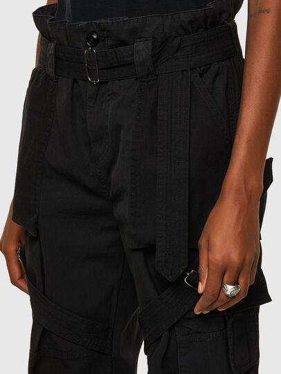 Diesel - P-FEDRA-A, Black - Pants - Image 4