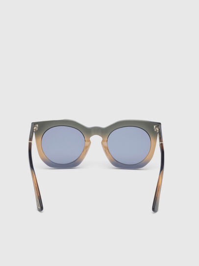 Diesel - DL0283, Blue/Yellow - Sunglasses - Image 4