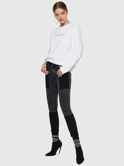 Diesel - F-LYANY-F, White - Sweaters - Image 5