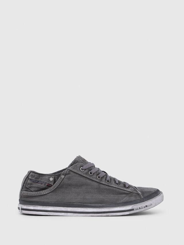 Diesel EXPOSURE LOW I, Metal Grey - Sneakers - Image 1