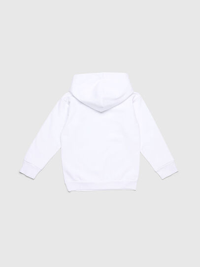 Diesel - SDIVISION-LOGO OVER, White - Sweaters - Image 2