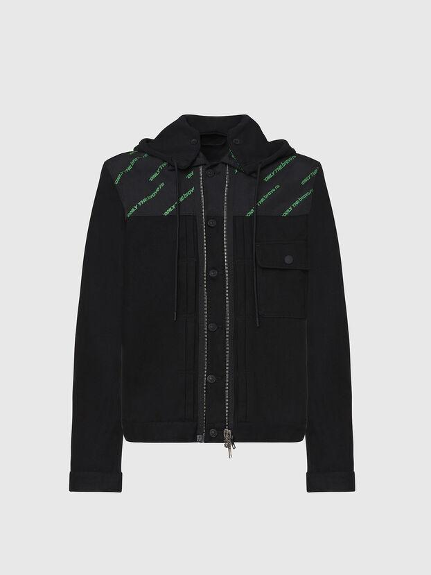D-COSMIC, Black - Denim Jackets