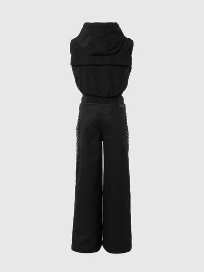 Diesel - D-JAYLEN JOGGJEANS, Black/Dark grey - Jumpsuits - Image 2