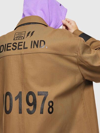 Diesel - J-ROBERT, Brown - Jackets - Image 5