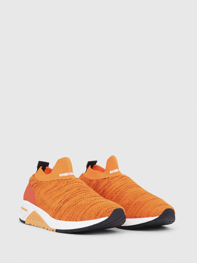 Diesel - S-KB ATHL SOCK, Orange - Sneakers - Image 2