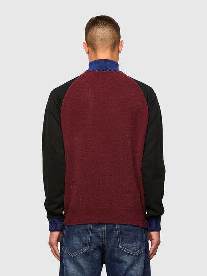 Diesel - K-PHIL, Black/Red - Knitwear - Image 2