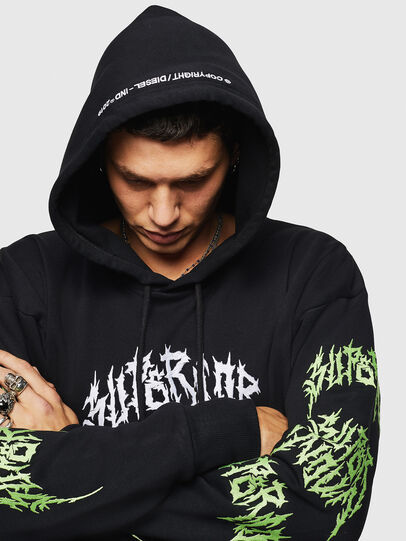 Diesel - S-ALBY-BX3, Black - Sweaters - Image 7
