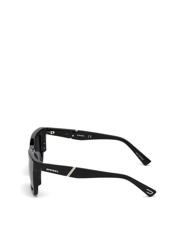 Diesel - DL0254, Black - Sunglasses - Image 3