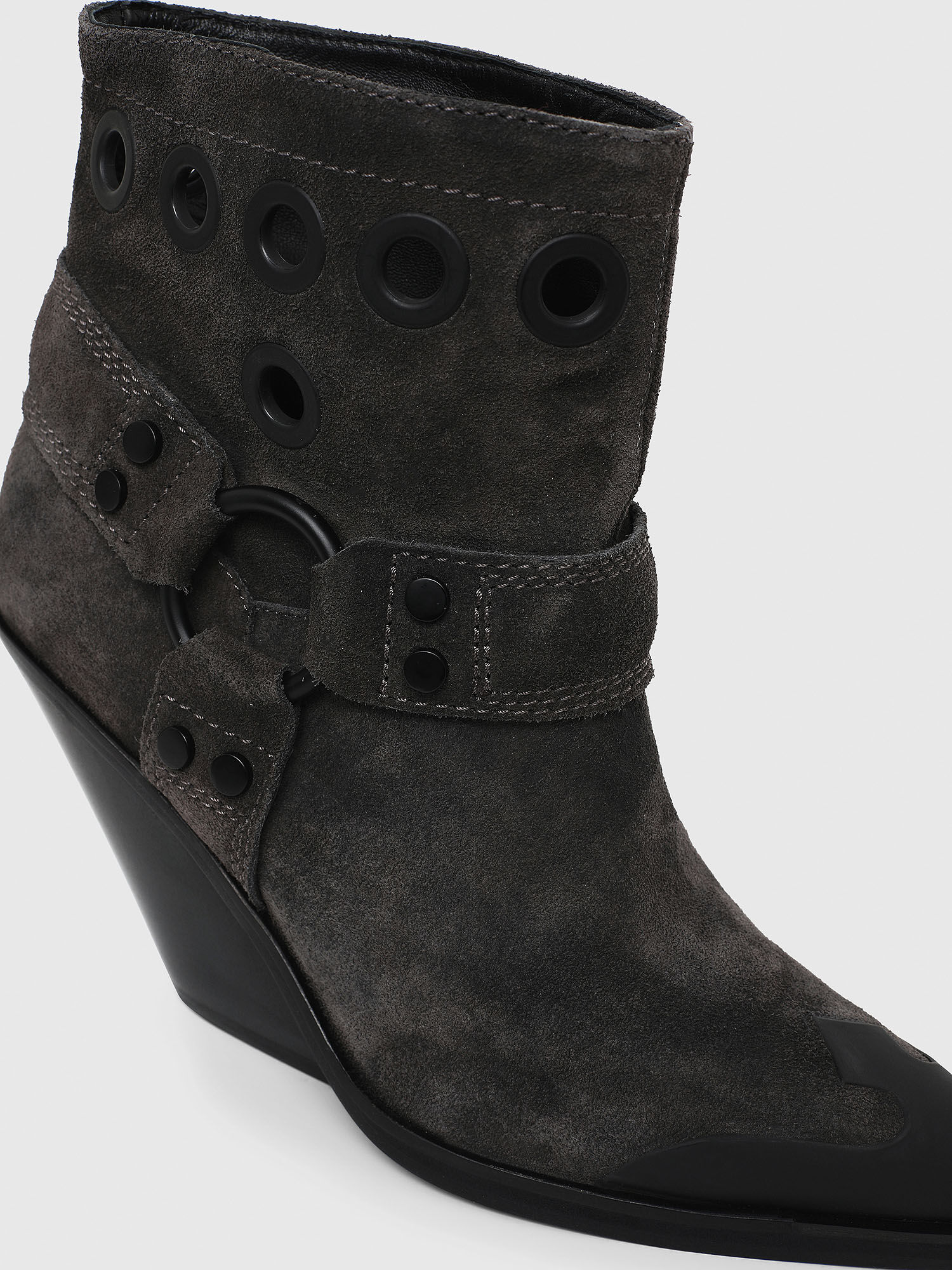 D-WEST MBE Women: Western ankle boots