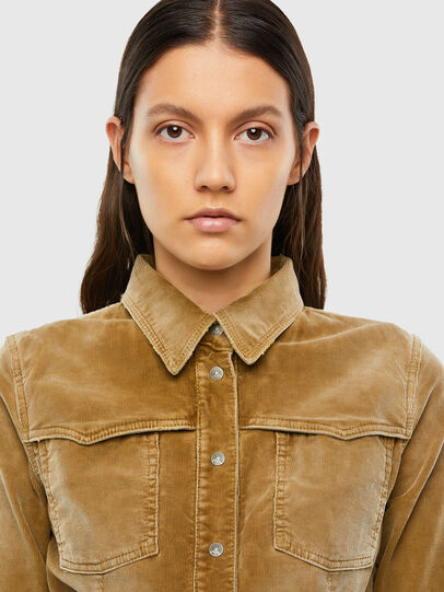 Diesel - C-SANDY-A, Light Brown - Shirts - Image 3