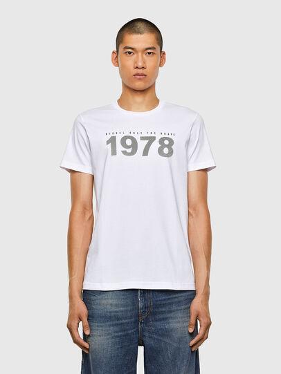 Diesel - T-DIEGOS-N33, White - T-Shirts - Image 1