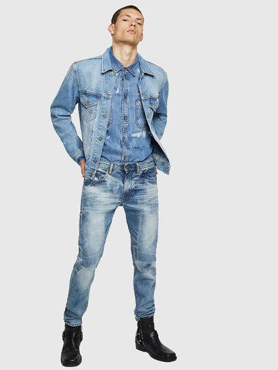 Diesel - Thommer 0092F, Light Blue - Jeans - Image 6