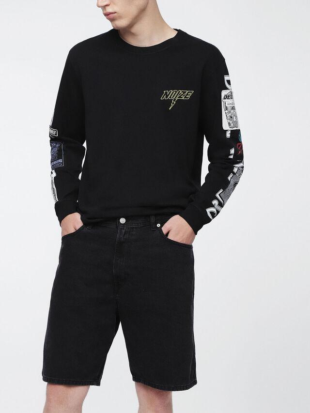 Diesel - D-WILLOH, Black - Shorts - Image 2