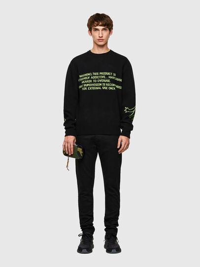 Diesel - K-ONTARIO, Black - Knitwear - Image 6