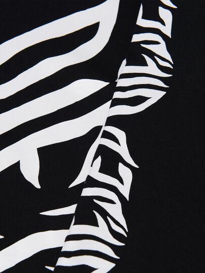 Diesel - TJUSTLSJ2 OVER, Black - T-shirts and Tops - Image 3