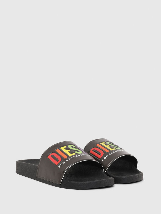 Diesel - SA-VALLA W, Black - Slippers - Image 2