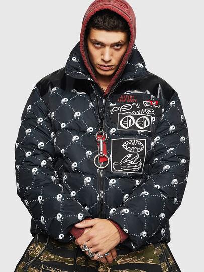 Diesel - W-PIATIG-PEACE, Black - Winter Jackets - Image 1
