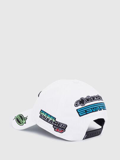 Diesel - ASTARS-CAP-B1, White - Caps - Image 2